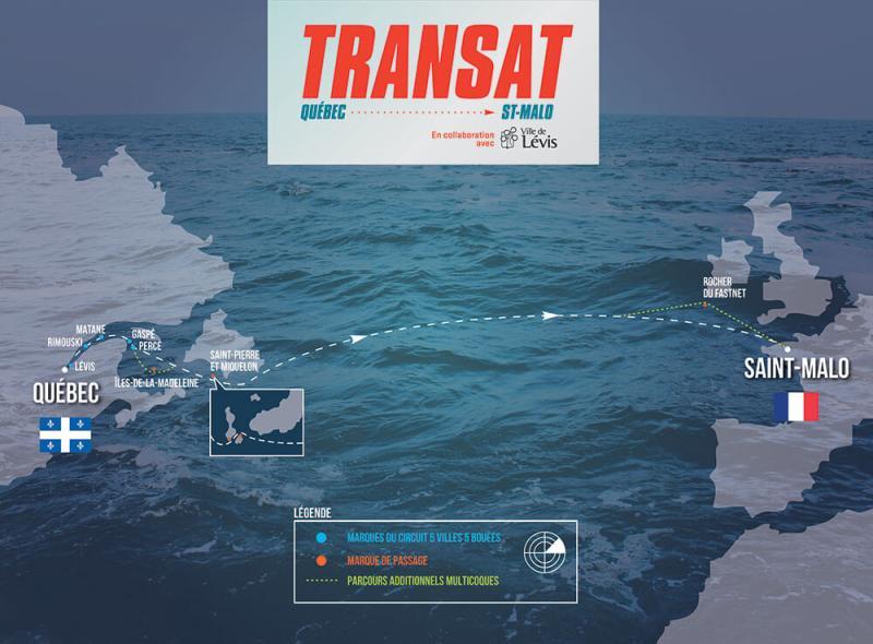 La Transat Quebec Saint Malo