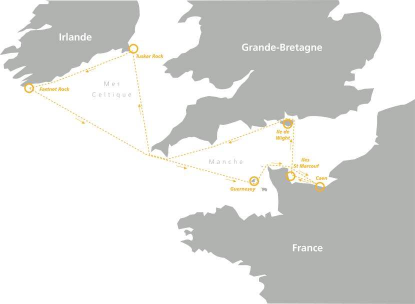 La Normandy Channel Race